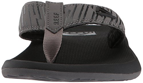 Reef Mens Phantom Prints Sandal Black/Lines ULw9L6tLP