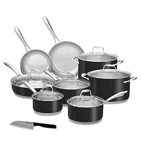 kitchen aid 14 piece cookware - 9