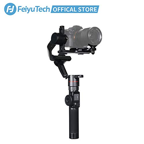 FeiyuTech AK2000 Gimbal 3-Axis Handheld Stabilizer Designed for DSLR Cameras/Mirrorless Cameras,Fits Sony/Canon/Panasonic/Nikon Cameras,Payload 2.8KG/6.17lb