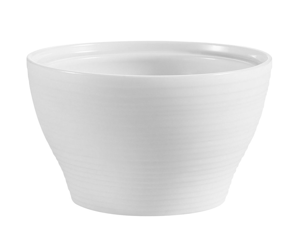 CAC China TST-B4 Transitions 4-Inch 7.5-Ounce Non-Glare Glaze Super White Porcelain Bouillon, Box of 36 by CAC China (Image #1)