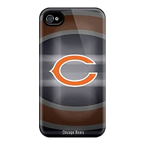 HoB2744cCAn Case Cover Protector For Iphone 4/4s Chicago Bears Case