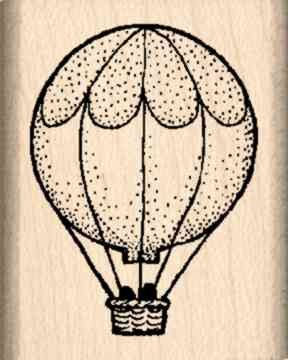 hot air balloon stamp - 2