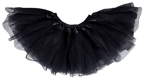 Black Tutu Costumes (Dancina Baby Girl Tutu Ages 6-24 Months)