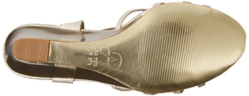 Adrianna Papell Mujeres Kristen Wedge Sandal Pearl