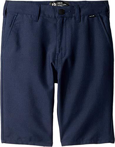 - Hurley Kids Boy's Dri-FIT¿ Chino Walkshorts (Big Kids) Midnight Navy 12