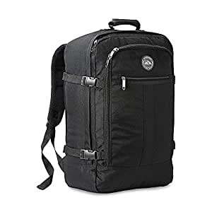 Cabin Max Carry On Travel Backpack Flight Approved 44L 56x36x23cm (Black)