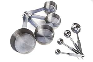 Goson Stainless Steel Measuring Spoon 8 Piece Set