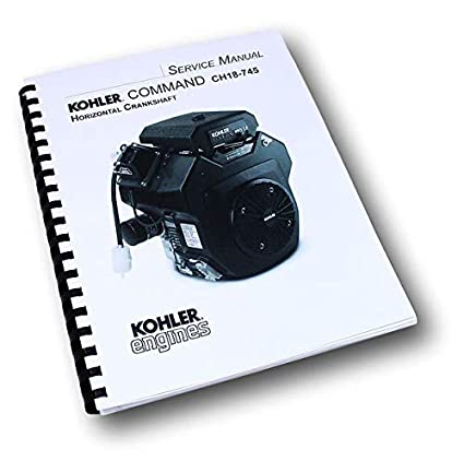 Amazon.com: Kohler Command Ch18-745 - Manual de reparación ...