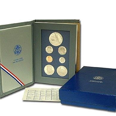 1986 S US Mint Prestige Proof Set Original Government Packaging Proof