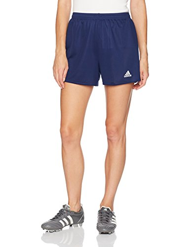 (adidas Women's Parma 16 Soccer Shorts, Dark Blue/White, Medium)