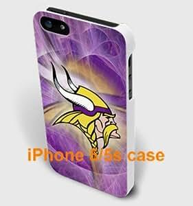 iPhone 5/5s Minnesota Vikings team logo -- white iphone 5 5S case