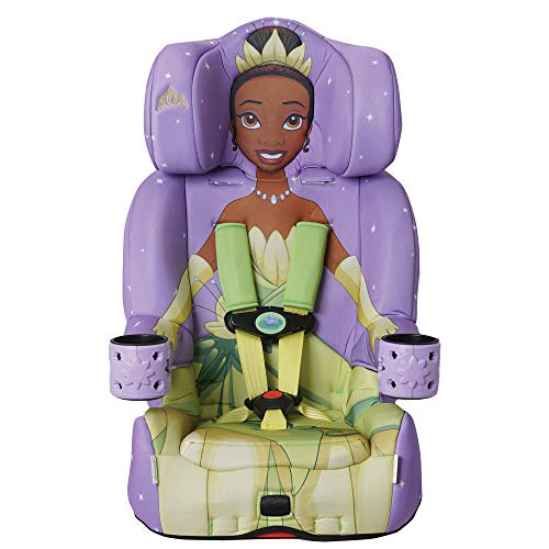 KidsEmbrace 2-in-1 Combination Harness Booster Car Seat, Disney Princess Tiana