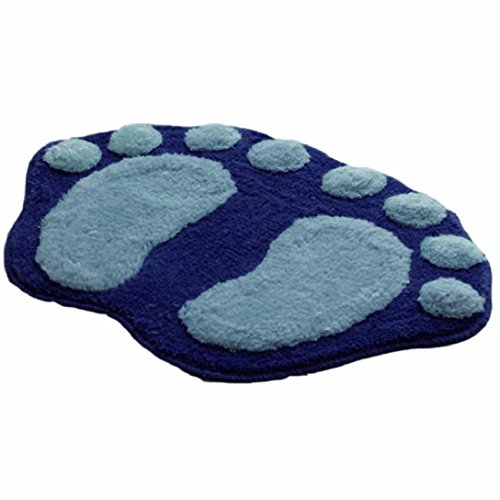 Christmas The New Hot Feet Plush Carpets,Highpot Removable Soft Bath Bathroom Bedroom Floor Shower Home Decor (Blue) (Patio Hot Tub Design Ideas)