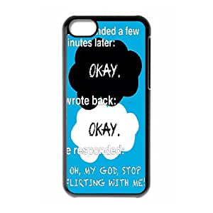 Okay?, The Fault in Our Stars- John Green Hard phone Case for iphone 5c Case Cover XRF032713