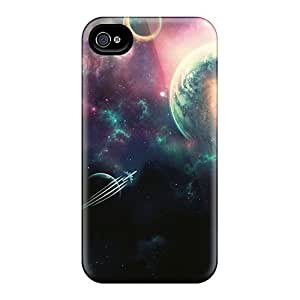 Premium Protection Space Ship Iphone 5/5S - Retail Packaging