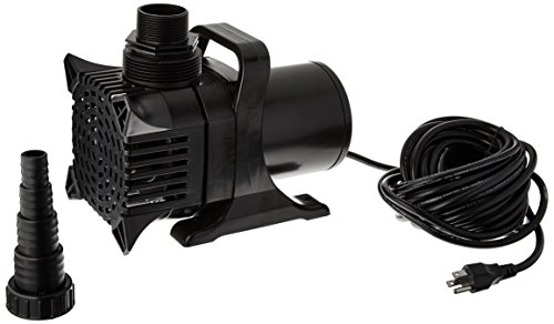 - Algreen MaxFlo 16000 to 4000 GPH Pond and Waterfall Pump for Gardening