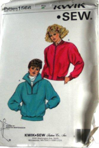 Kwik Sew 1566 Pattern Misses Jackets Size XS,S,M,L