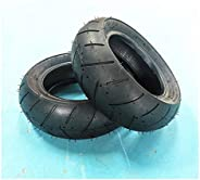 XXLYY Solid Tire Scooter Replacement Tire, 11 Inch 90/65-6.5 Thickened Vacuum Tires, Wear-Resistant Anti-Skid