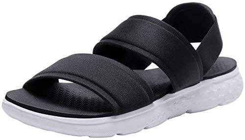 (CAMEL CROWN Womens Athletic Sandals Comfortable and Lightweight Sport Sandals for Women Anti-skidding Outdoor Black 9)