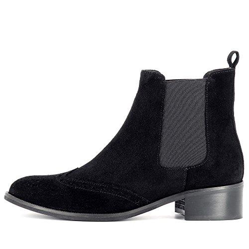 Negro Rita Evita Shoes Cerrado Mujer IOIzBx