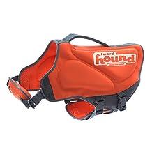 Outward Hound Kyjen 22027 Neoprene Dog Life Jacket, X-Large, Orange