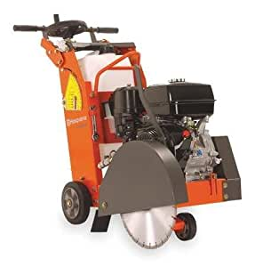 Walk Behind Concrete Saw, 18 In, 1.72 gal. by Husqvarna