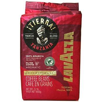 Lavazza Tierra Premium Blend 100% Arabica Whole Bean - 2.2 Pound Bag.