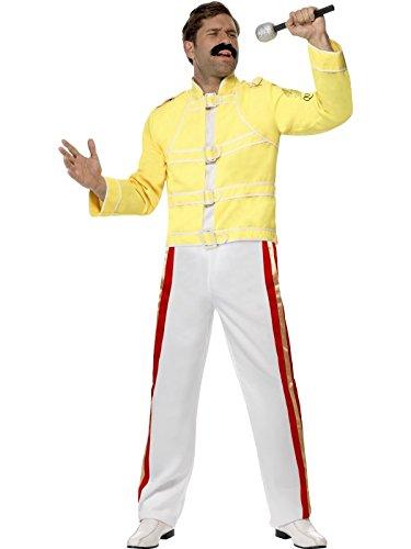 Smiffys Queen Freddie Mercury Costume - Freddie Mercury - (Freddie Mercury Costume)