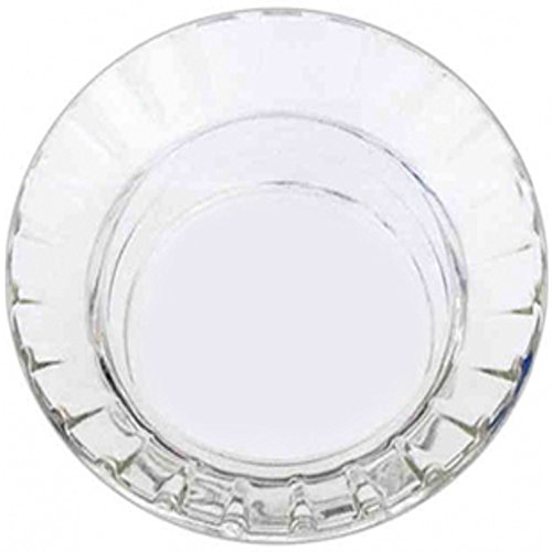 WC Newman- Crystal Ashtrays #770 Clear Stackable Ashtrays 72 Per (Stackable Ashtray)