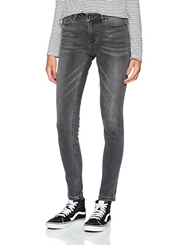 Vero Moda, Vaqueros Slim para Mujer Gris (Medium Grey Denim Medium Grey Denim)