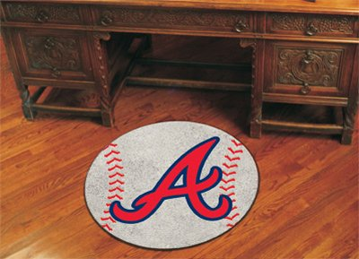 Mlb Rugs 29 Baseball - FANMATS 6429 MLB Atlanta Braves Baseball Rug