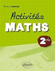 Activites Maths Classe de Seconde