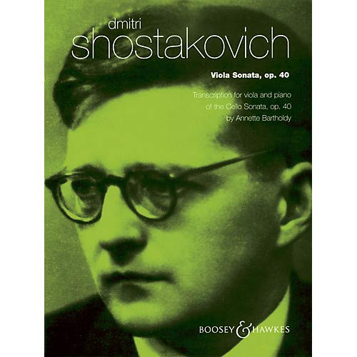 (Viola Sonata, Op. 40 (for Viola and Piano) String Series Composed by Dmitri Shostakovich)