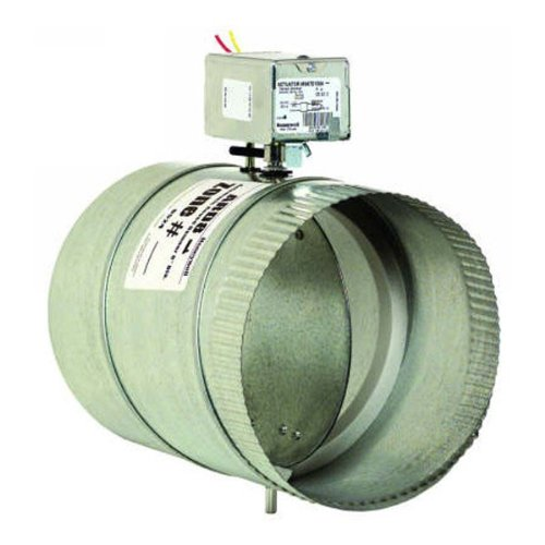 (Round Motorized Damper, Dia 9 In)