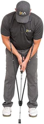 IXIA Sports - True Pendulum Motion (TPM) - Golf Putting Training Aid - Universal Tool for Adults, Kids, Junior