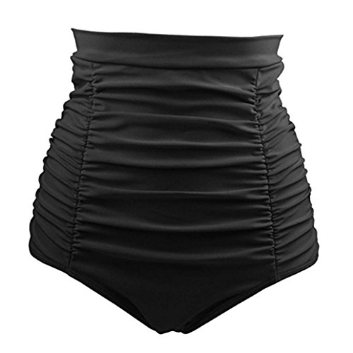 Beautyfine Swiming Shorts Women Girls Bikini Bathing Sexy Beach Swimwear High Waist Trunks Pants Retro Bikini Pant