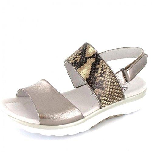 Gabor Sling Sandalette , Farbe: Mutaro Metallic