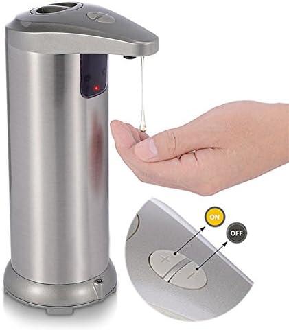 Jabón automático, sin tacto, batería, jabón eléctrico, sensor ...