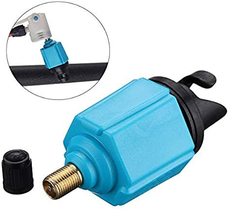 Standard Schrader Conventional Pump Adaptor Air Valve Adapter Pumping Head Connector for Inflatable Rowing Boat,Stand Up Paddle Board,Dinghy Inflatable Boat SUP Pump Adaptor Air Pump Converter