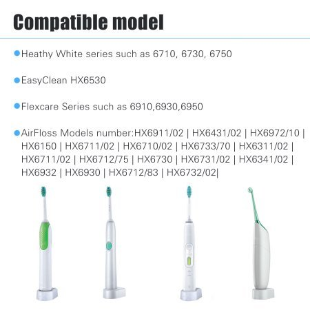 New Genuine OEM Philips HX6100 Toothbrush Sonicare Travel Charger Base AC Power