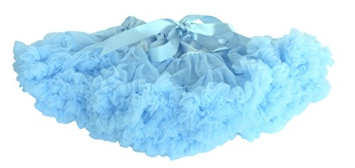 [Dancina Tutu Cute Fairy Princess Dressup Birthday Party Costume 6-24 months Light Blue] (Baby Megamind Costume)