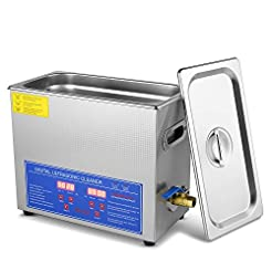 Flexzion Commercial Ultrasonic Cleaner 6...