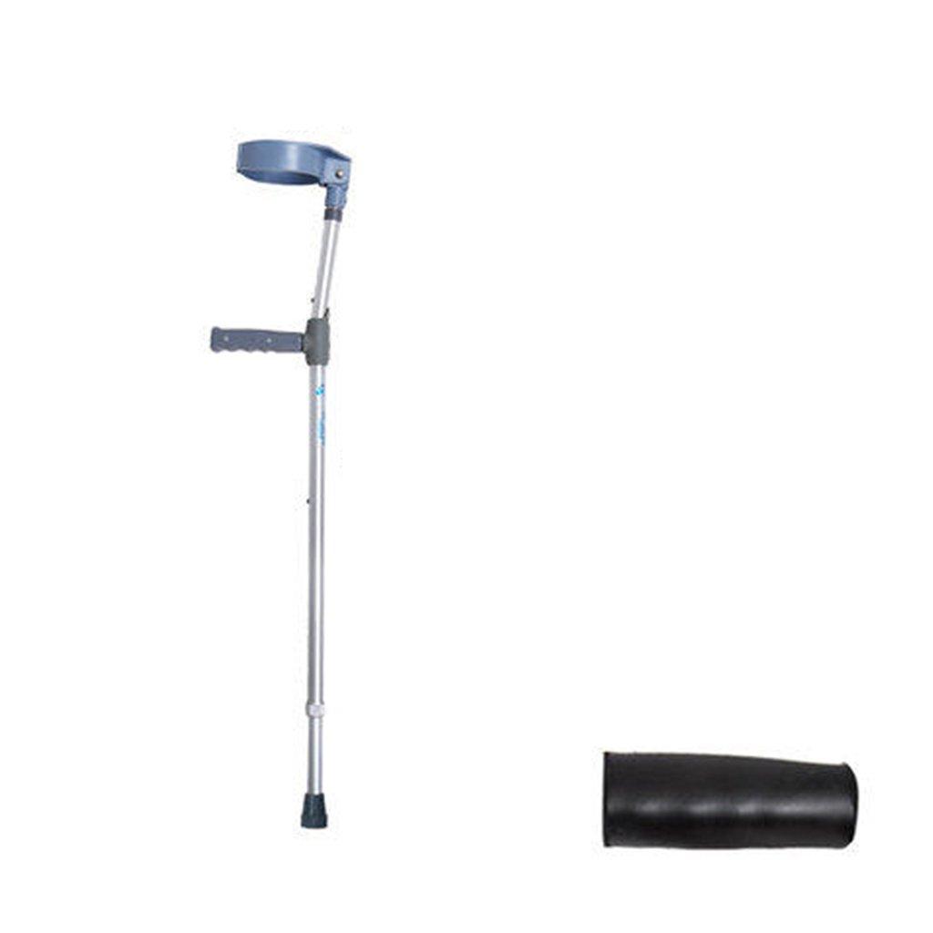 HAIYING 松葉杖のついたアームの松葉杖サポートアーム付きウォーキングスティック(1組) (色 : B) B07D6BQJ75 B