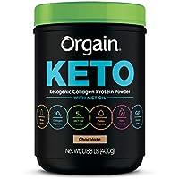 Orgain Keto Collagen Protein Powder with MCT Oil (Chocolate / Vanilla)
