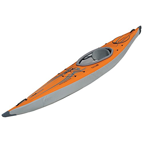 ADVANCED ELEMENTS Airfusion Evo Inflatable Kayak, Orange