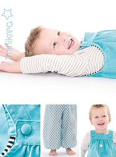 MAGAM-Stoffe Retro Overall Schnittmuster Babys und Kinder inkl Aufn/äher Enno