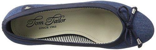 TOM TAILOR Damen 2793604 Pumps Blau (Jeans)