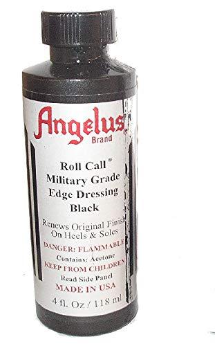 - Angelus Roll Call Military Grade Edge Dressing 4 Oz. (Black)