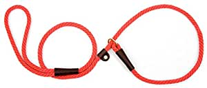 "Mendota Pet Slip Lead,  1/2"" X 6', Red, Dogs"
