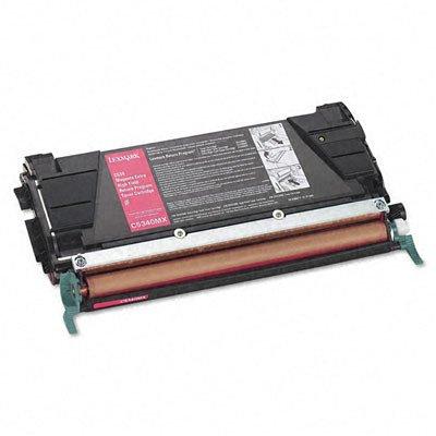 (LEXC5340MX - Lexmark Magenta Extra High Yield Return Program Toner Cartridge)